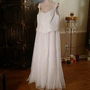 Aspeed wedding dress, size XXXL, white